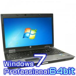 hp EliteBook 8540w Mobile Workstation【Windows7 Pro・Core i7・8GB・新品SSD】