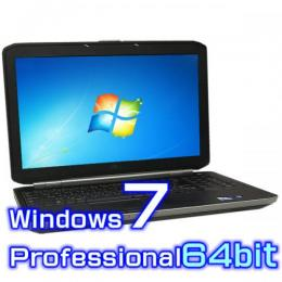 DELL Latitude E6530【Windows7 Pro 64bit・Core i7・8GB・新品SSD】