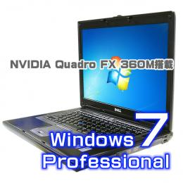 DELL Precision M4300【Windows7 Pro・無線LAN・Quadro FX】