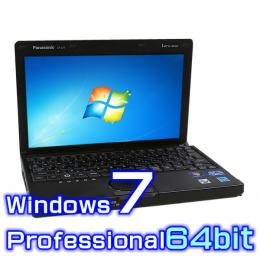 Panasonic レッツノート J10 CF-J10EWHDS【Windows7 Pro 64bit・Core i5・8GB・新品SSD】
