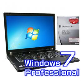 IBM ThinkPad T60 6369-6JJ【Windows7 Pro・ワード エクセル2007付き】