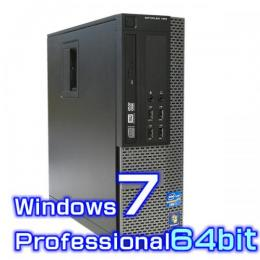 DELL Optiplex 9020【Windows7 Pro 64bit・Core i5・メモリ16GB・新品1TB・USB3.0】