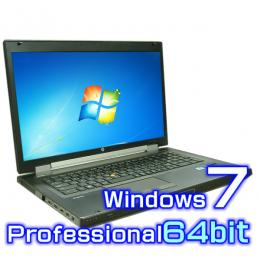 hp EliteBook 8760w mobile workstation【Windows7・Core i5・新品SSD+新品1TB】