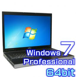 DELL Precision M6500【Windows7 Pro 64bit・Core i7・メモリ16GB・17インチワイド液晶】