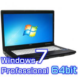 富士通 LIFEBOOK A561/Dノートパソコン 【Windows7 Pro 64bit Office2007Personal】