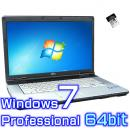 富士通 LIFEBOOK E741/D【Windows7 Pro 64bit・Core i7・8GB・SSD・リカバリ機能】