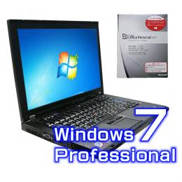 Lenovo ThinkPad T61 7658-A21【Windows7 Pro・ワード エクセル2007付き】
