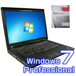 Lenovo ThinkPad R500 2714-NV7 【Windows7 Pro・ワード エクセル2007付き】