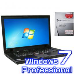 Lenovo ThinkPad SL510 2847-RE4【Windows7 Pro・ワード エクセル2007付き】