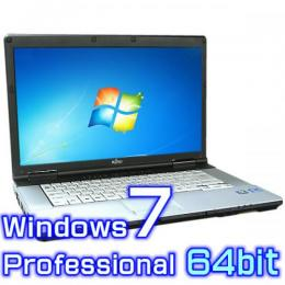 富士通 LIFEBOOK E741/D 【Windows7 Pro 64bit・Core i7・8GB・新品SSD・リカバリ機能】