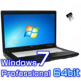 富士通 LIFEBOOK A572/F 【Windows7 Pro 64bit・Core i5・SSD搭載・リカバリ機能・USB3.0】