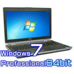 DELL Latitude E6520【Windows7 Pro 64bit・Core i5・8GB・無線LAN・10キー装備】