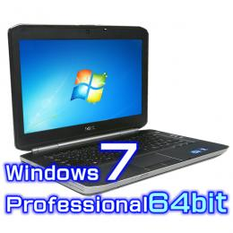 DELL Latitude E5420【Windows7 Pro 64bit・Core i5・新品SSD・高解像度液晶】