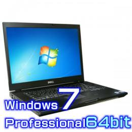 DELL Latitude E6510【Windows7 Pro 64bit・Core i7・4コア・8GB・新品SSD・高解像度】